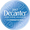 Decanter Commended
