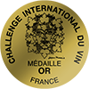 Gold, Challenge International du Vin, France